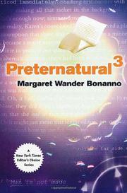PRETERNATURAL³ by Margaret Wander Bonanno