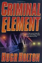 Book Cover for CRIMINAL ELEMENT
