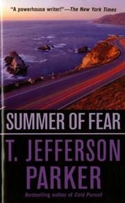 SUMMER OF FEAR by T. Jefferson Parker