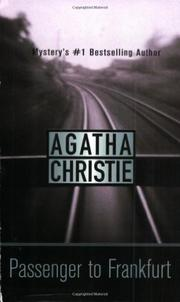 PASSENGER TO FRANKFURT by Agatha Christie