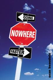 Cover art for GOING NOWHERE FASTER