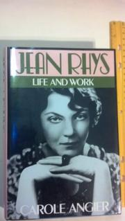 JEAN RHYS by Carole Angier