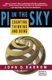 """PI IN THE SKY: counting, Thinking and Being"" by John D. Barrow"