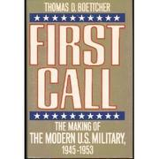 FIRST CALL by Thomas D. Boettcher
