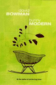 Book Cover for BUNNY MODERN