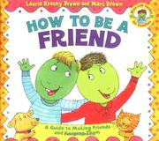 Cover art for HOW TO BE A FRIEND