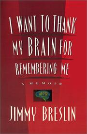 Cover art for I WANT TO THANK MY BRAIN FOR REMEMBERING ME