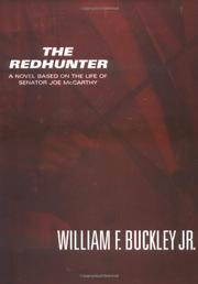 THE REDHUNTER by William F. Buckley Jr.