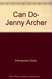 CAN DO, JENNY ARCHER by Ellen Conford