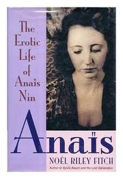 ANAIS by Noel Riley Fitch