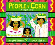 PEOPLE OF CORN by Mary-Joan Gerson