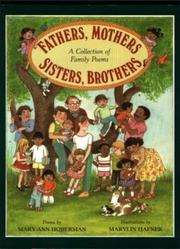 FATHERS, MOTHERS, SISTERS, BROTHERS by Mary Ann Hoberman