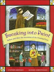 BREAKING INTO PRINT by Stephen Krensky