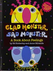 Book Cover for GLAD MONSTER, SAD MONSTER