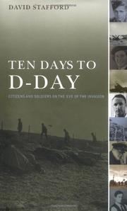 Cover art for TEN DAYS TO D-DAY