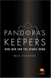 PANDORA'S KEEPERS by Brian VanDeMark