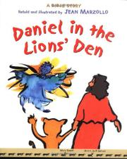 Cover art for DANIEL IN THE LION'S DEN