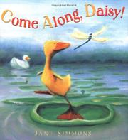 Cover art for COME ALONG, DAISY!
