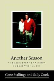 ANOTHER SEASON by Gene Stallings