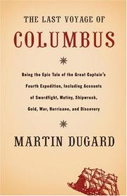 Cover art for THE LAST VOYAGE OF COLUMBUS