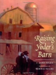 Cover art for RAISING YODER'S BARN