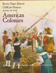 USKIDS HISTORY: BOOK OF THE AMERICAN COLONIES by Howard Egger-Bovet