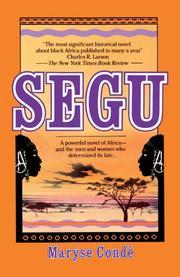 SEGU by Maryse CondÉ