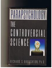 Cover art for PARAPSYCHOLOGY