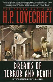 Cover art for THE DREAM CYCLE OF H.P. LOVECRAFT