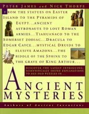 Book Cover for ANCIENT MYSTERIES