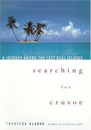 Cover art for SEARCHING FOR CRUSOE