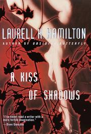 Cover art for A KISS OF SHADOWS