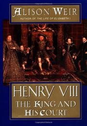 HENRY VIII by Alison Weir