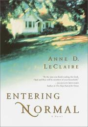ENTERING NORMAL by Anne D. LeClaire