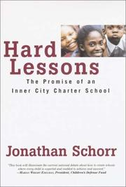Book Cover for HARD LESSONS