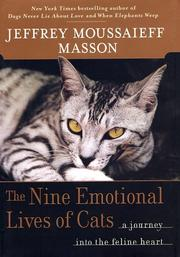 Cover art for THE NINE EMOTIONAL LIVES OF CATS
