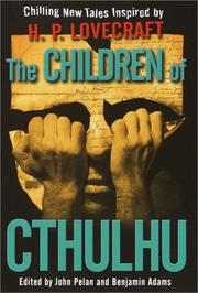 Cover art for THE CHILDREN OF CTHULHU