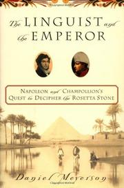 THE LINGUIST AND THE EMPEROR by Daniel Meyerson
