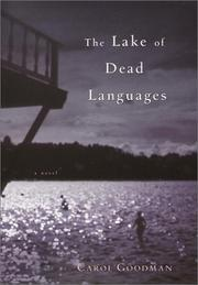 Cover art for THE LAKE OF DEAD LANGUAGES