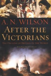 Cover art for AFTER THE VICTORIANS