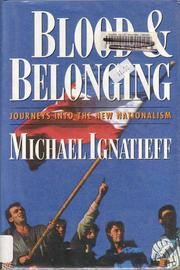Cover art for BLOOD AND BELONGING