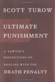 ULTIMATE PUNISHMENT by Scott Turow