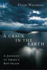 Cover art for A CRACK IN THE EARTH