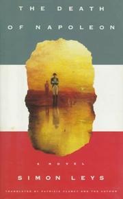 THE DEATH OF NAPOLEON by Simon Leys