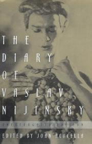 THE DIARY OF VASLAV NIJINSKY by Joan Acocella