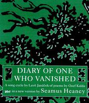 DIARY OF ONE WHO VANISHED by Ozef Kalda