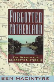Cover art for FORGOTTEN FATHERLAND