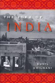 Book Cover for THE IDEA OF INDIA