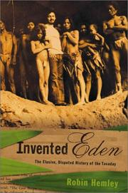 INVENTED EDEN by Robin Hemley