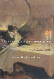 Cover art for THE LOVE AFFAIR AS A WORK OF ART